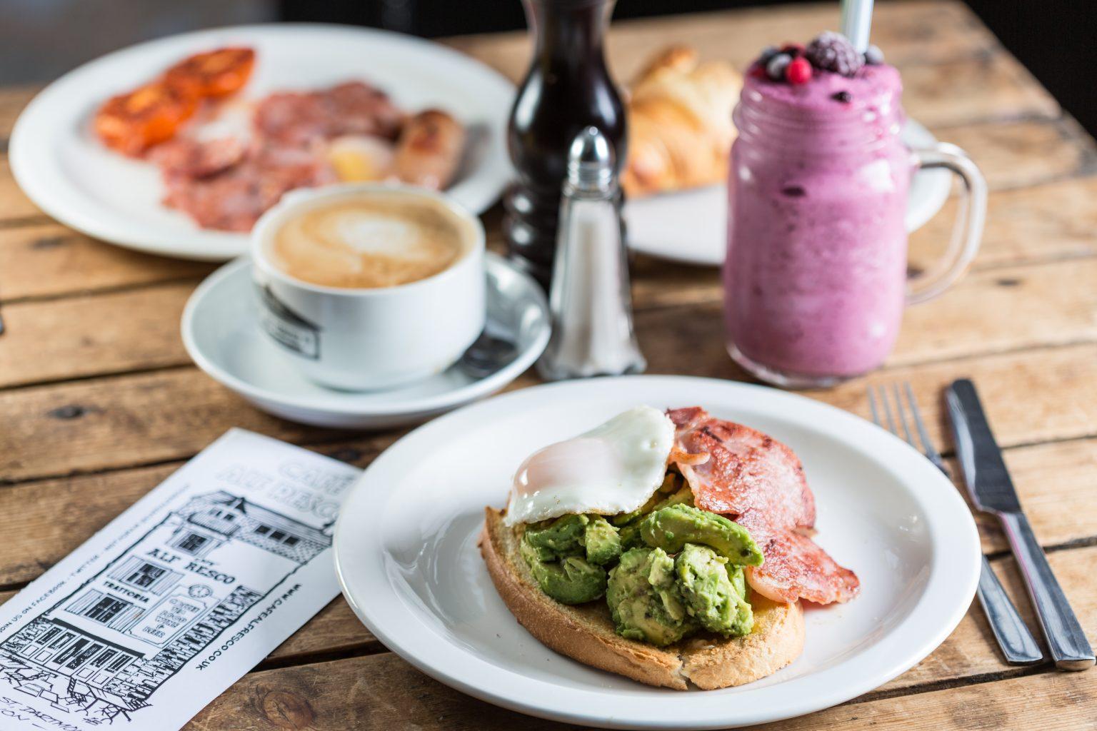 Café Alf Resch Breakfast