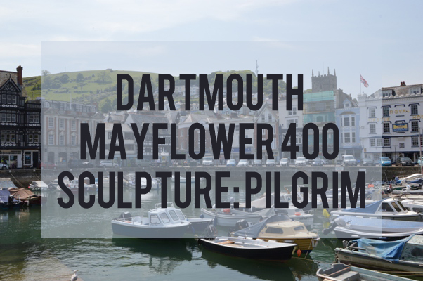 Dartmouth Mayflower 400 Pilgrim Sculpture