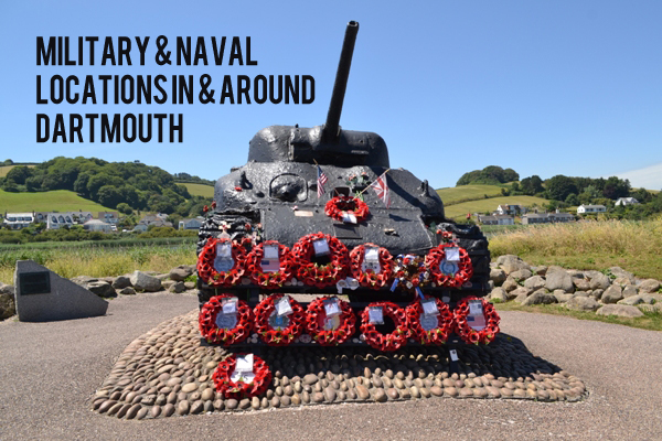 Military & Naval Locations in Around & Dartmouth