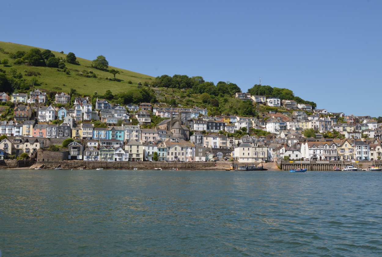 View of Dartmouth from the river