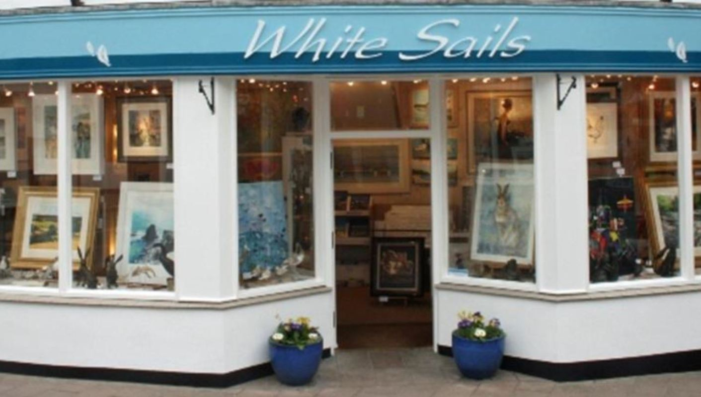 White Sails Gallery Outside