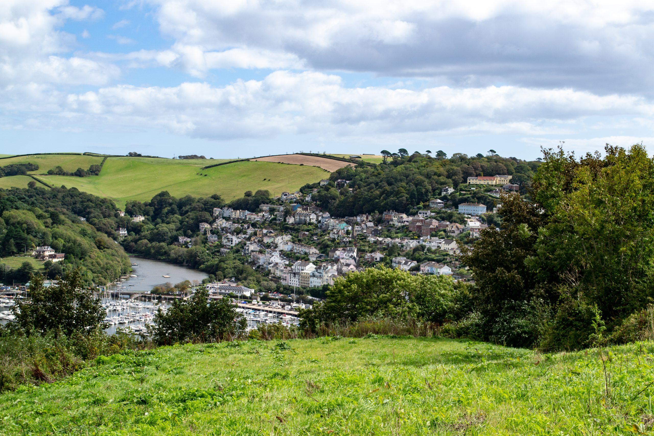 Dart View Across to Kingswear