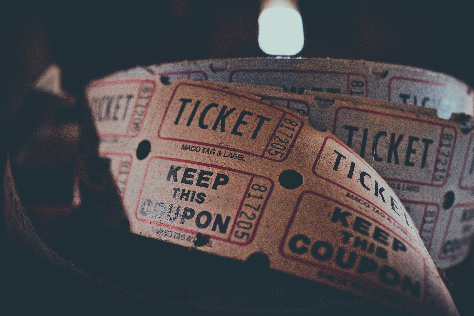 Ticket reel