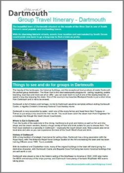 Discover Dartmouth Group Itinerary