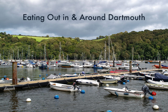 Eating out in & around Dartmouth